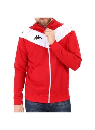 Kappa Kapüşonlu Ceket Belıgıo  Kırmızı